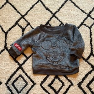Baby Disney Mickey Mouse Super Soft Pull Over NB